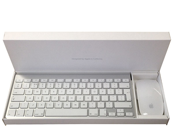 Apple Keyboard & Magic Mouse set, Bluetooth, British (09)