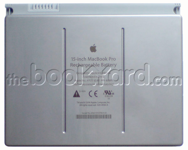 "MacBook Pro 15"" Battery, original Apple"
