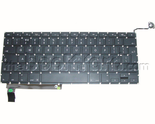 "Unibody MacBook Pro 15"" Keyboard, UK 09-12 (v2)"