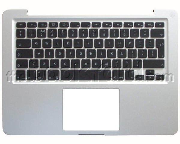 "Unibody MacBook Pro 13"" Top Case & German Keyboard (2012)"