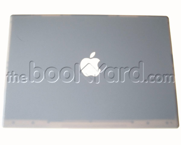 MacBook lid panel, White