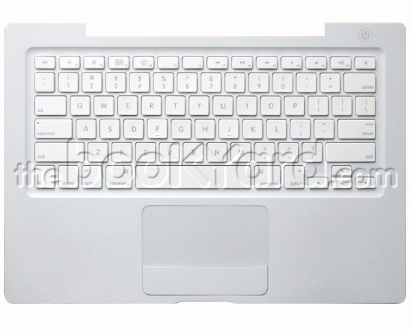 MacBook Top Case, Keyboard, US (SR/08/09) White