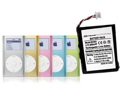 NewerTech iPod Mini 650mAh battery
