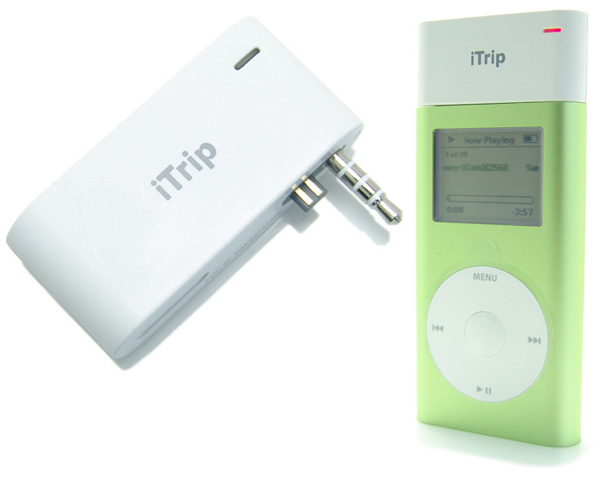 NewerTech iTrip FM transmitter for iPod mini