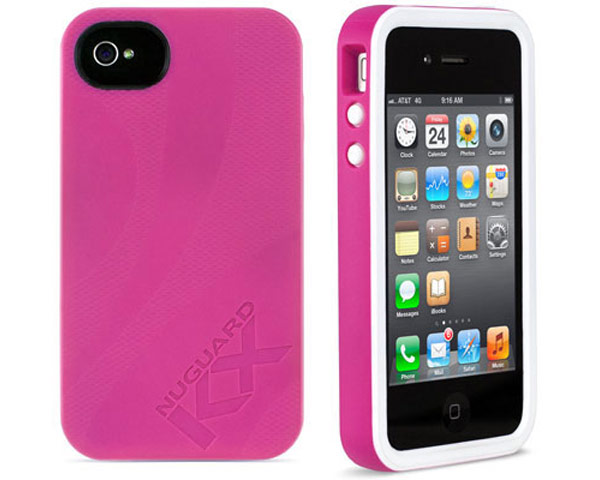 NewerTechnology NuGuard KX iPhone Case - Rose - iPhone 4/4S