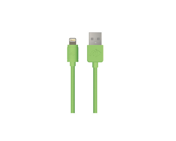 USB to Lightning Connector Cable - NewerTech - 1 Meter - Green
