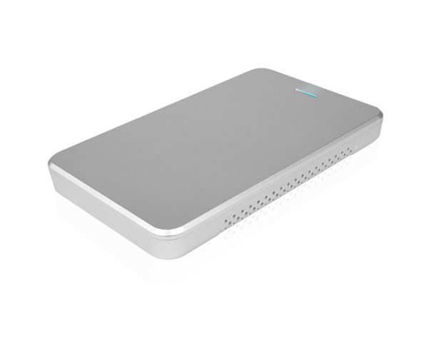 "OWC Express 2.5"" SATA hard disk enclosure, USB 3.0/2.0 - Silver"