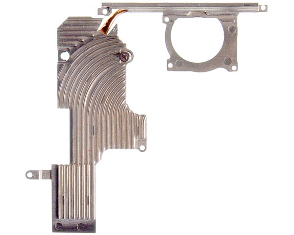 "PowerBook G4 Aluminium 12"" heat sink (1-1.5GHz)"