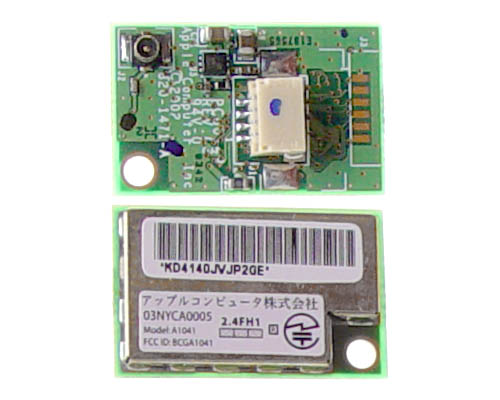 "Bluetooth 1.1 board for 17"" Aluminium PowerBook G4"