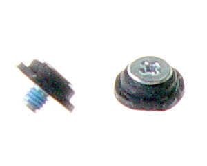 PowerBook G4 Aluminium hard drive screw & grommet set