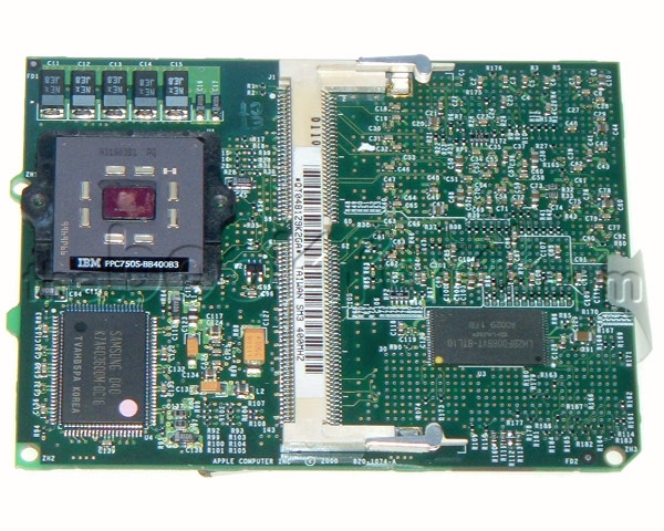 PowerBook G3 PISMO 400MHz processor daughter card