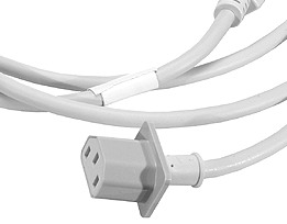 PowerMac G5/Mac Pro heavy duty mains cable, UK