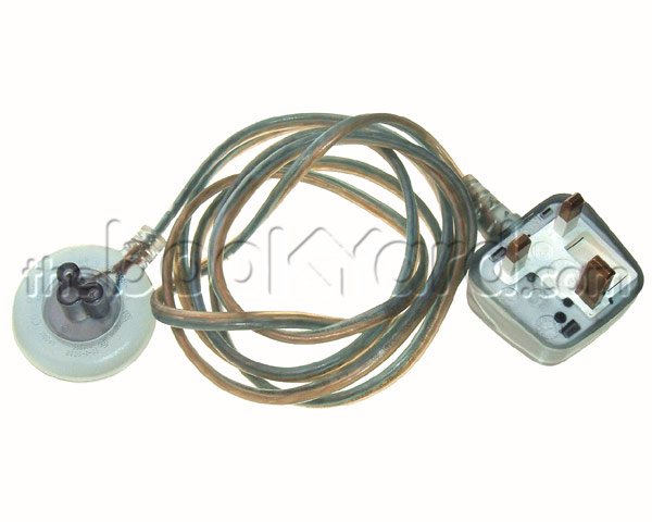 Mains lead for yo-yo iBook/PowerBook power supplies 2 Pin