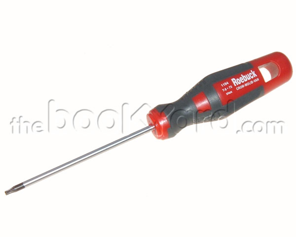 Roebuck Chrome-Vanadium Torx T8 screwdriver