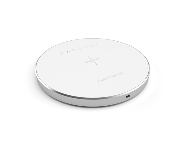 Satechi Aluminium Wireless Charger - Silver