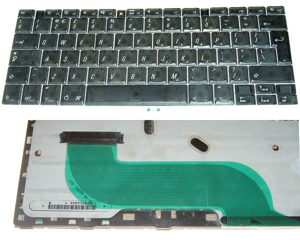 Titanium PowerBook G4 Keyboard, UK (550-667MHz)