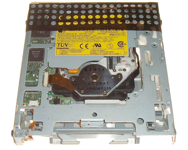 Titanium PowerBook G4 DVD-ROM optical drive