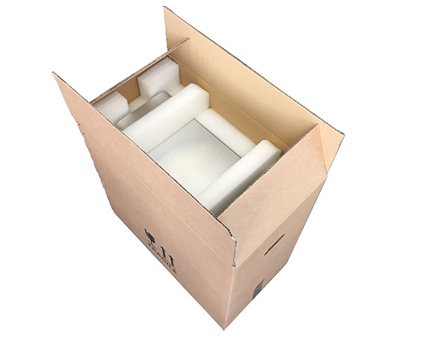 Mac Pro Heavy duty shipping box + polyethylene inserts