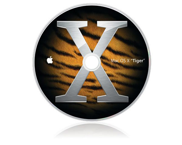 Mac OSX Server 10.4 Unlimited Client Retail Version