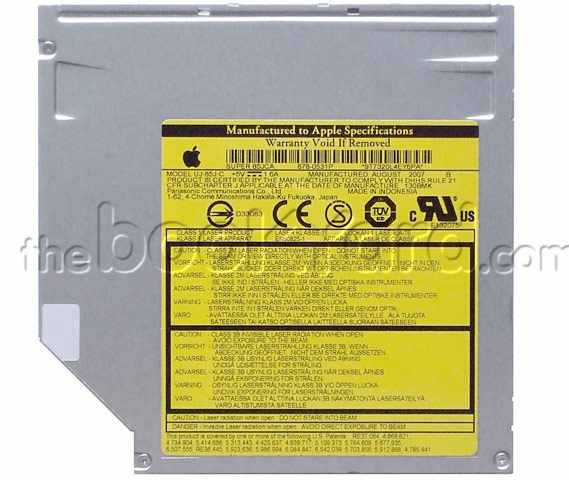 Panasonic (Matshita) UJ-85J slimline Superdrive (Apple Branded)