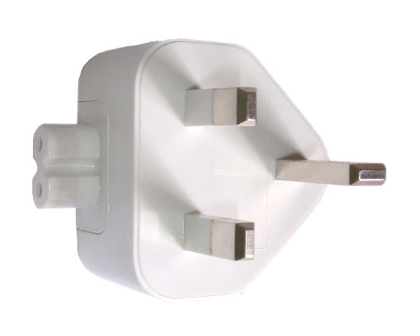 Mains plug/duckhead, Apple - UK v1