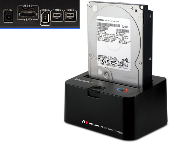 NewerTech Voyager Q quad interface SATA Hard Drive Dock
